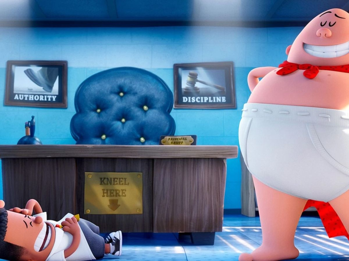 Captain Underpants The First Epic Movie Scatological Jokes Don T Come Any Cleaner