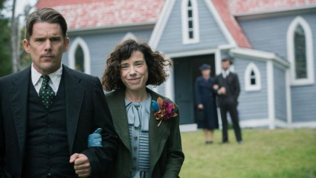 Maudie: Ethan Hawke and Sally Hawkins in Aisling Walsh's new film