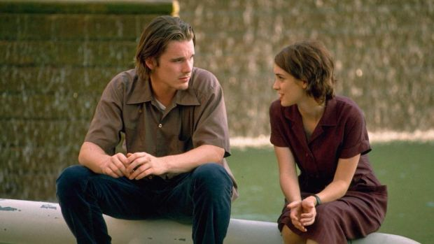 Reality Bites: Ethan Hawke with Winona Ryder in Ben Stiller's 1994 film