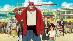 The Boy and the Beast: an orphaned nine-year-old escapes the streets of contemporary Tokyo into Jutengai, the mythical kingdom of the beasts