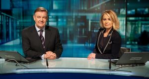 Six-One: Bryan Dobson and Sharon Ní Bheoláin present the RTÉ  news bulletin, but, in a pattern that repeats itself across the Irish media, Dobson is paid significantly more
