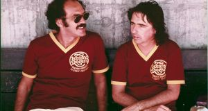 Shep Gordon and Alice Cooper in the documentary Supermensch: The Legend of Shep Gordon.
