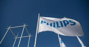 Philips  spun off its lighting division last year to focus on medical devices and healthcare products. Photograph: Getty Images