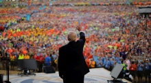 Trump launches into political tirade at Boy Scouts jamboree
