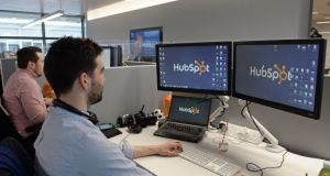 HubSpot's accounts show it employed 214 people in Ireland last year, up from 135 in 2015.