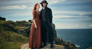 One of the huge achievements of Debbie Horsfield's adaptation of the Poldark novels is its determination to dramatise, alongside the bodice ripping, the core social conflicts experienced by the first industrial generation. Photograph: Robert Viglasky
