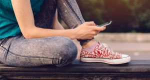A study by the Pew Research Centre found young people were significantly more likely to report positive experiences online than negative ones. Photograph: Istock