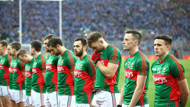 They have been beaten in Croke Park but when's the last time Mayo let themselves down? They don't do that in recent history. They see Croke Park and they perform. Photograph: Cathal Noonan/Inpho