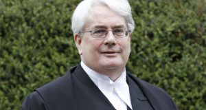 Mr Justice Frank Clarke: first member of his family to go to university