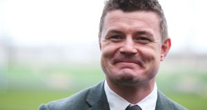 Former Ireland international Brian O'Driscoll: set up his business in 2001. Photograph: Brian Lawless/PA