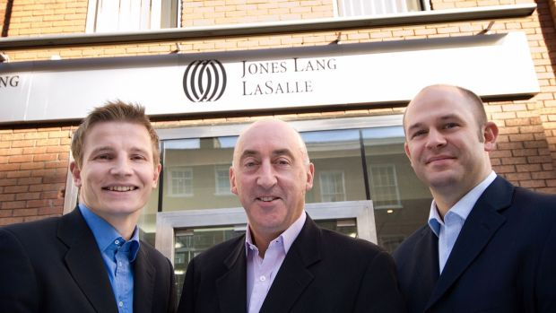 John Mulcahy (centre) was chairman and chief executive of Jones Lang LaSalle in Ireland between 2002 and 2010, before joining Nama
