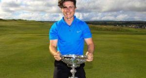 Conor Purcell is hoping to defend his South of Ireland Amateur Open title at Lahinch.