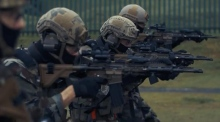 Army Ranger Wing display their intense training regime
