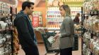 Unlikely lad and lass: Kumail Nanjiani and  Zoe Kazan in The Big Sick