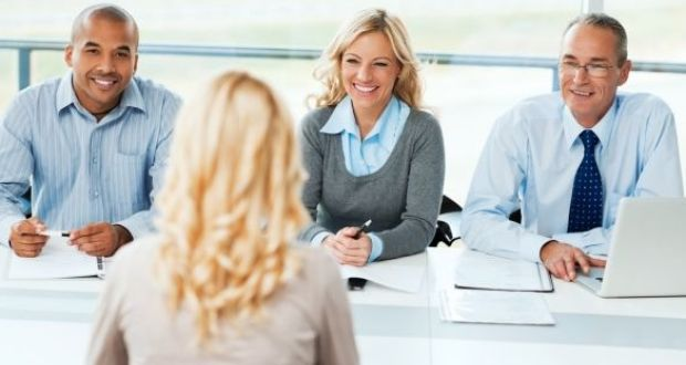 Job interviews:  remember you are interviewing the organisation just as much as it is interviewing you. Photograph: Getty Images