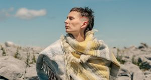 Look west with this shawl from The Tweed Project