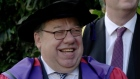 Brian Cowen receives honorary National University of Ireland doctorate