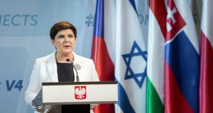 Polish prime minister Beata Szydlo: said her government was open to discussions. Photograph: Balazs Mohai/EPA