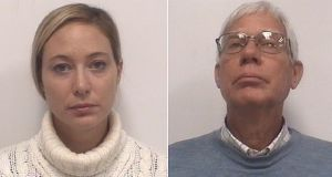 Mugshots of Molly Martens and Thomas Martens who are on trial for the murder of Jason Corbett.