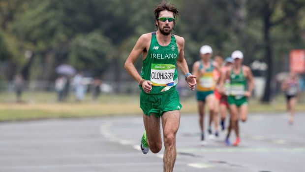 Mick Clohisey has also started using more dilute electrolyte powders and soluble tablets in his long training runs. Photograph: ©INPHO/Morgan Treacy