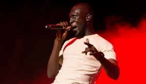 Stormzy is one of the early favourites on this year's Mercury Music Prize shortlist. Photograph: Ignacio Brotons/EPA