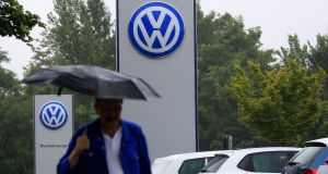 Clouds  over Volkswagen's performance appear to be mostly clearing Photograph: Bloomberg