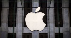 Apple is due to report its financial results on Tuesday. Photograph: Mike Segar/Reuters