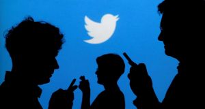Twitter's average monthly active users figure  was 328 million in the second quarter Photograph: Reuters