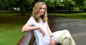 "Aileen Power, in St Stephen's Green, Dublin. Power says her joining a pension at age 23 was ""pure luck"". Photograph: Dara Mac Donaill"