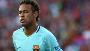 PSG's owners believe Barcelona's Neymar can help kickstart their project. Photogrpah: Patrick Smith/Getty