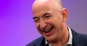 Jeff Bezos is the richest person as measured by Bloomberg Photograph: Reuters