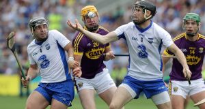Waterford full back Barry Coughlan in against Wexford last weekend. Photograph: Inpho/Morgan Treacy