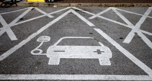 Driving change: the move to electric cars Photograph:  PA