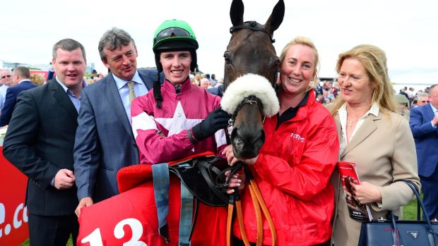 Lord Scoundrel winner of the Galway Plate 2016