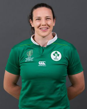 Paula Fitzpatrick  Position: Back Rower  Club: St Mary's/Leinster Caps: 31