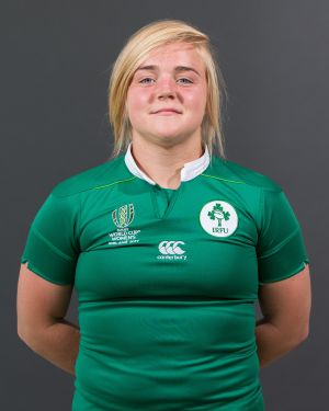 Cliodhna Moloney Position: Hooker Caps: 8 Club: Railway Union/Leinster