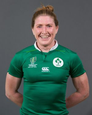 Heather O'Brien  Position: Back Rower Club: Highfield/Munster Caps: 26
