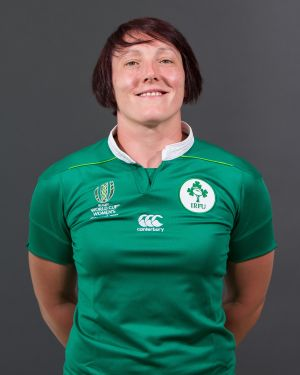 Lindsay Peat  Position: Prop Club: Railway Union/Leinster  Caps: 12