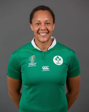Sophie Spence  Position: Lock/Back Rower Club: Old Belvedere/Leinster Caps: 36
