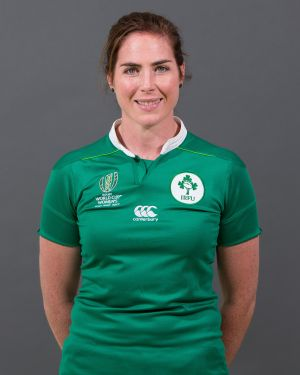 Nora Stapleton  Position: Out-Half Club: Old Belvedere/Leinster  Caps: 45