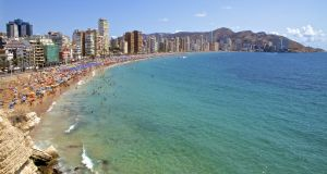 The Spanish resort of Benidorm is among those expected to benefit from growing tourist numbers as the national economy bounces back. Photograph: iStock