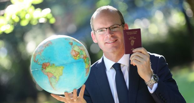 Simon Coveney as he recently announced that over 500,000 passports have already been issued this year so far