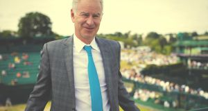 John McEnroe:   There is a kind of restlessness and searching at the heart of the tennis firebrand's second autobiography.  Photograph: Jonathan Ford