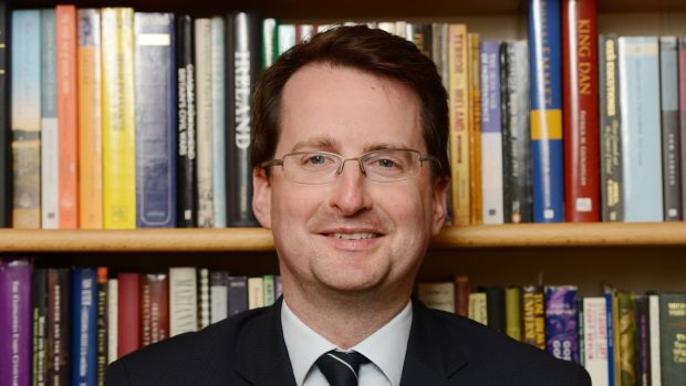 Trinity College Dublin historian Patrick Geoghegan has been employed as a speechwriter for Leo Varadkar. Photograph: Alan Betson