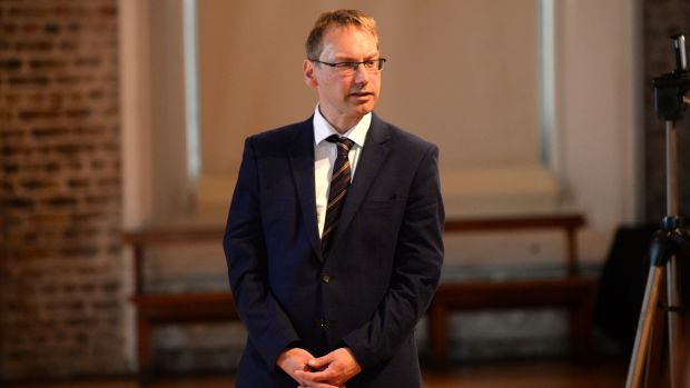 Nick Miller: the new Government press secretary Nick Miller, a long-time Varadkar aide. Photograph: Dara Mac Dónaill