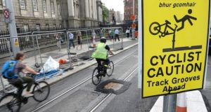 Motorists in Dublin face severe disruption for a week with Luas Cross City works closing off the south quays in the city centre