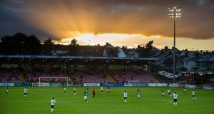 Turner's Cross, during Cork City's win over Galway on Friday night. Photograph: Inpho