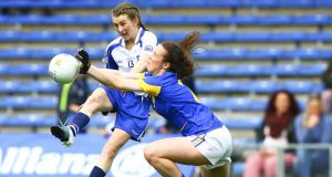 Aileen Wall's late goal secured an All-Ireland quarter-final for Waterford. File photograph: Ken Sutton/Inpho