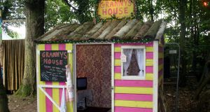 Granny's House is a much-loved installation which allowed festival-goers to find a moment's repose from the din outside