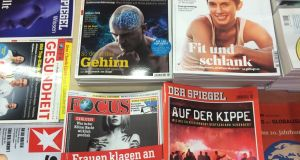 The book 'Finis Germania'  has caused uproar in Germany after Der Spiegel magazine deleted it from its bestseller list
